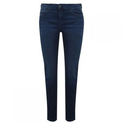 アルマーニ EMPORIO ARMANI レディース ジーンズ・デニム スキニー ボトムス・パンツ High-Rise Skinny Jeans Denim Blu