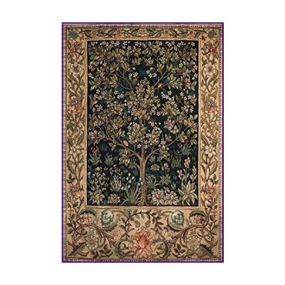 Queenie Wooden 1000 Piece The Tree of Life Artwork Art Jigsaw Puzzles Adults Games Release Stress Entertainment Toys Floor Puzzles for Home
