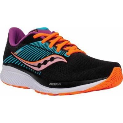 サッカニー レディース スニーカー シューズ Women's Saucony Guide 14 Running Sneaker Future/Black