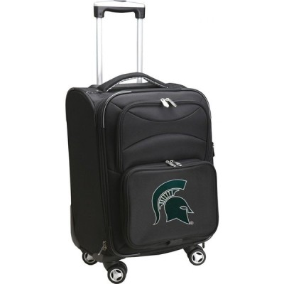 NCAA ユニセックス スーツケース・キャリーバッグ バッグ Spinner Carry On Suitcase Michigan State Spartans
