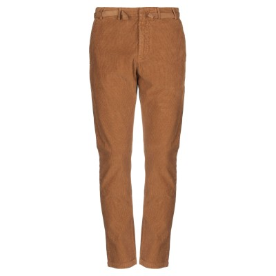 ヌメロ ヴェントゥーノ N°21 パンツ ブラウン 44 コットン 100% パンツ