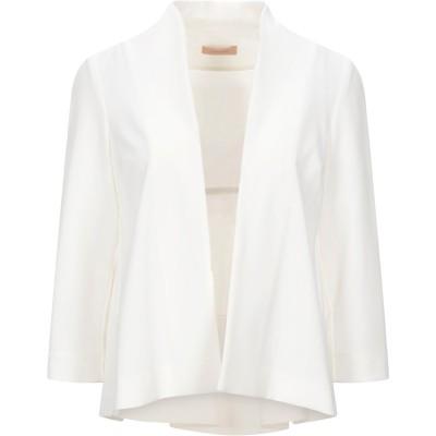 MAESTA テーラードジャケット ホワイト 40 ポリエステル 95% / ポリウレタン 5% テーラードジャケット