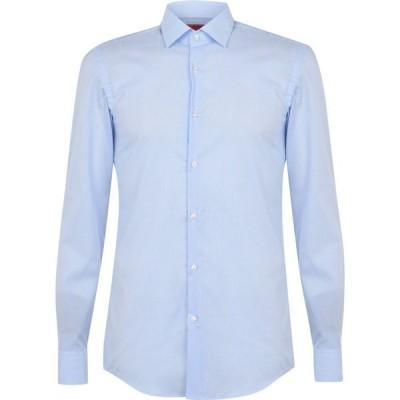 ヒューゴ ボス Hugo メンズ シャツ トップス Kenno Shirt Light Blue