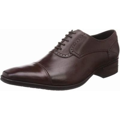 即日発送可 QUOカードプレゼント&ポイント15倍 キャサリンハムネットロンドン 31647 新作 牛革キップ 紐 メンズ ビジネスシューズ 紳士靴 ダークブラウン