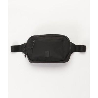 バッグ ウエストポーチ BLCKCHRM ZIPTOP WAISTPACK / ブラックローム ジップトップ ウェストパック 防水 ボディバッグ
