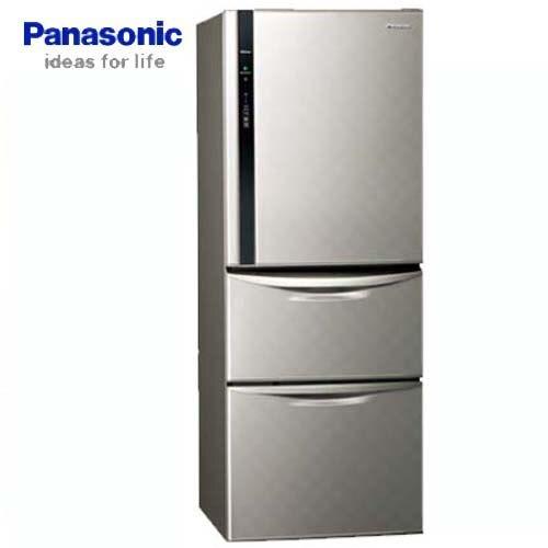 Panasonic 國際牌 385公升 三門變頻冰箱 NR-C389HV-L 絲紋灰