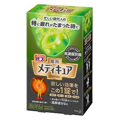花王 バブ メディキュア 森林の香り 6錠入
