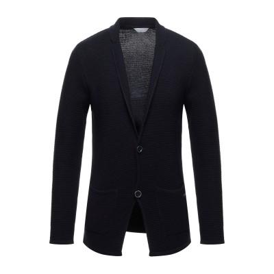 SSEINSE テーラードジャケット ダークブルー XXL コットン 50% / アクリル 50% テーラードジャケット