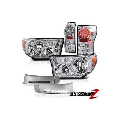 カー用品 パーツ アクセサリー ヴェノム 2007-2013 Toyota Tundra ブライトEST LED DRL バンパー ランプ ヘッドライト テールランプ ペア