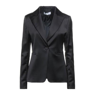 カオス KAOS テーラードジャケット ブラック 46 ポリエステル 97% / ポリウレタン 3% テーラードジャケット