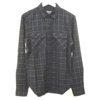 【アールエムストア】 メンズ T/Rオンブレチェックシャツ BR94025 メンズ グリーン XL~ RM STORE