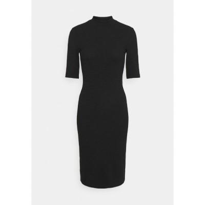オンリー プティ ワンピース レディース トップス ONLJOANNA DRESS - Shift dress - black