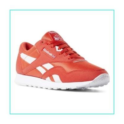 【新品】Reebok Classic Nylon Sneaker, Canton red/White, 6 M US(並行輸入品)