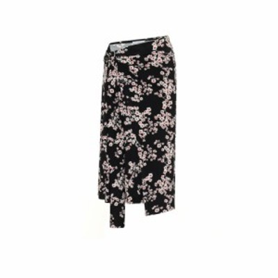 パコラバンヌ Paco Rabanne レディース ひざ丈スカート スカート Floral jersey midi skirt Black Sakura