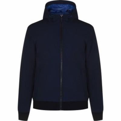 ダナ キャラン ニューヨーク DKNY メンズ ジャケット ソフトシェルジャケット アウター Softshell Jacket Navy