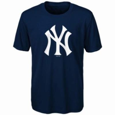 Outerstuff アウタースタッフ スポーツ用品  New York Yankees Youth Navy Primary Team Logo T-Shirt