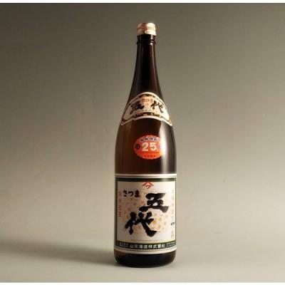【芋本来の醍醐味】さつま五代 25° 1800ml【山元酒造】