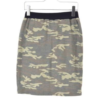 cloche / クロッシェ カモ柄 リバーシブル スカート