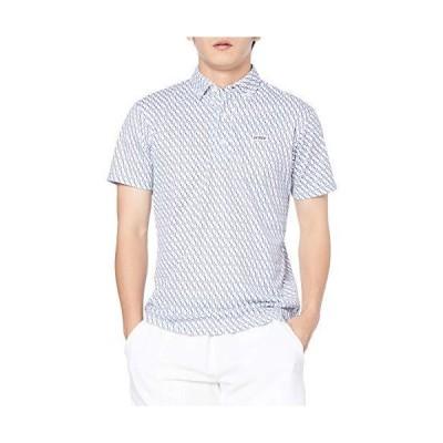 半袖ポロシャツ (217) (日本サイズS相当) [プリンス] ポロシャツ ホワイト×ネイビー 日本 S