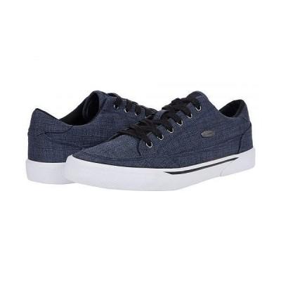 Lugz ラグズ メンズ 男性用 シューズ 靴 スニーカー 運動靴 Stockwell Linen - Deep Blue/Black/White
