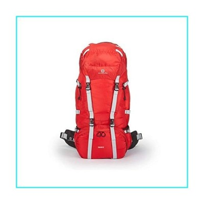 Outbound Canyon 65L Large Capacity Backpack with Internal Frame (Red)