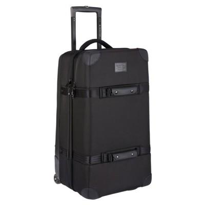 バートン トラベルバッグ BURTON WHEELIE DOUBLE DECK TRAVEL BAG True Black Ballistic ウィーリーダブルデッキ ラゲッジ 日本正規品