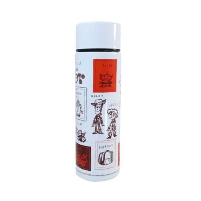 保温保冷 水筒 ポケット ステンレスボトル トイストーリー ディズニー ブラウン 三郷陶器 140ml