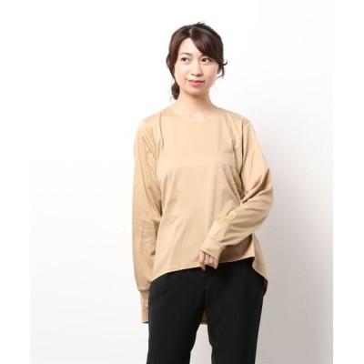 MARcourt / MIDIUMISOLID for Ladies クルーネックAラインプルオーバー WOMEN トップス > Tシャツ/カットソー