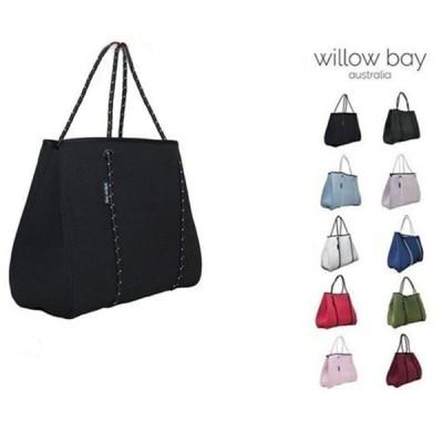 Willow bayウィローベイ トートバッグ ネオプレン ポーチ付 幅40cm トート バッグ マザーズバッグ