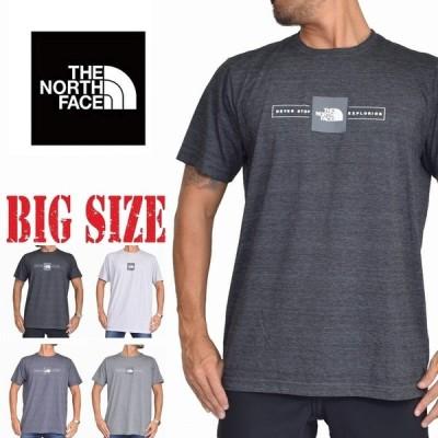 大きいサイズ メンズ ノースフェイス 半袖 ロゴプリント Tシャツ SLIM FIT THE NORTH FACE SLIM FIT XL XXL [M便 1/1]