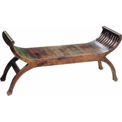 ジャービス商事 天然木無垢材 ユーユラブチェア 36340 木製 アンティーク調