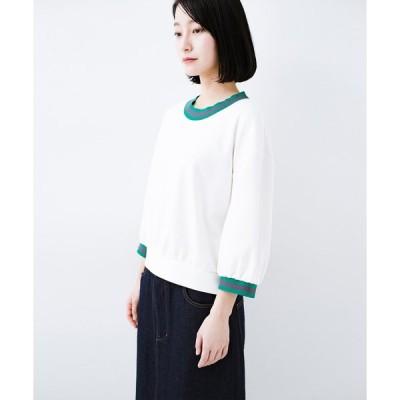 【ハコ】子どもっぽくならない 大人女子のための配色スウェット