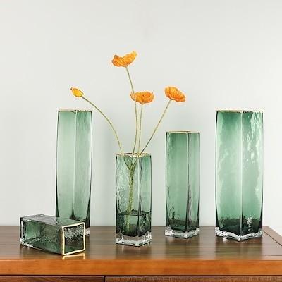 高品質韓国INS インテリア 花瓶 雑貨 ドライフラワー ガラス 透明 バブル 花びん しゃれ大きい 水培花の器家の装飾 白 ゴールドリビングルーム フラワーアレンジメント北欧家装飾結婚式プレゼン