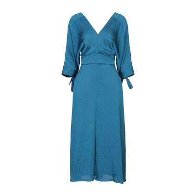 MAJE 7分丈ワンピース・ドレス ディープジェード 3 ポリエステル 100% 7分丈ワンピース・ドレス