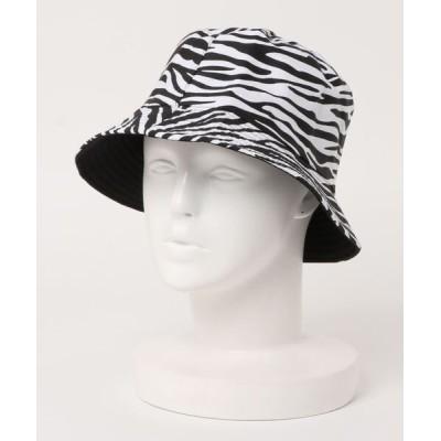 ALTROSE / リバーシブル バケットハット[アニマル2WAY] WOMEN 帽子 > ハット