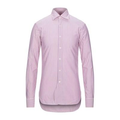DOPPIAA シャツ ピンク 38 コットン 100% シャツ