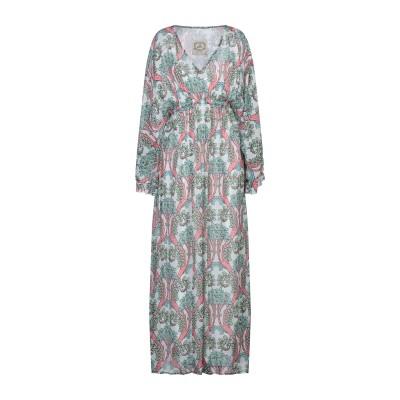 ピンク メモリーズ PINK MEMORIES ロングワンピース&ドレス ホワイト 42 レーヨン 100% ロングワンピース&ドレス