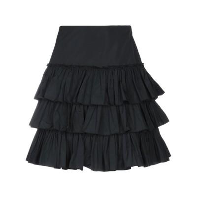 ブルーガール ブルマリン BLUGIRL BLUMARINE ひざ丈スカート ブラック 36 ポリエステル 100% ひざ丈スカート