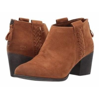 Billabong ビラボン レディース 女性用 シューズ 靴 ブーツ アンクル ショートブーツ In The Deets Boot Nutmeg【送料無料】
