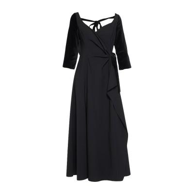 ロージー・アスリーヌ ROSIE ASSOULIN 7分丈ワンピース・ドレス ブラック 2 バージンウール 96% / ポリウレタン 4% 7分丈ワ
