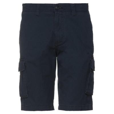 SELECTED HOMME ショートパンツ&バミューダパンツ  メンズファッション  ボトムス、パンツ  ショート、ハーフパンツ ダークブルー