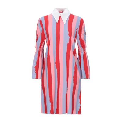 VIVETTA ミニワンピース&ドレス レッド 36 レーヨン 98% / ポリウレタン 2% ミニワンピース&ドレス
