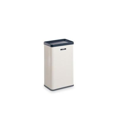 エルボックス アイボリー 中缶付 サイズ:本体:約W360×D248×H600mm、中缶:約W323×D220×H475mm 重量:約6.2kg 容量:約34L