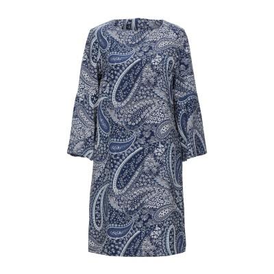 BIANCOGHIACCIO ミニワンピース&ドレス ブルー 44 ポリエステル 95% / ポリウレタン 5% ミニワンピース&ドレス