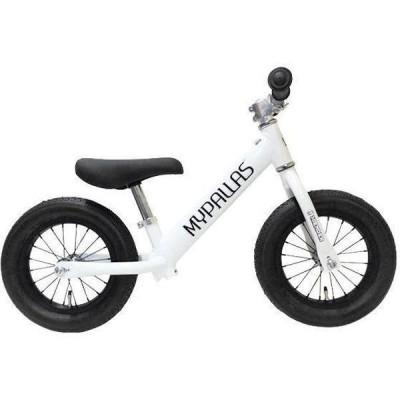 送料無料 マイパラス ペダルなし自転車 スーパーハイエンダー MC-SH 軽量アルミフレーム エアータイヤ MC-SH-WH(直送品)