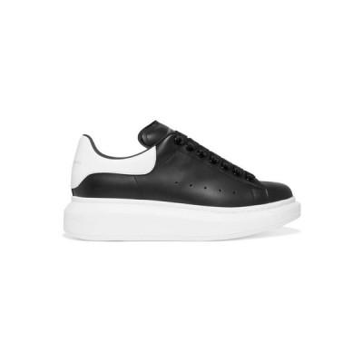 アレキサンダー マックイーン Alexander McQueen レディース スニーカー シューズ・靴 Leather exaggerated-sole sneakers