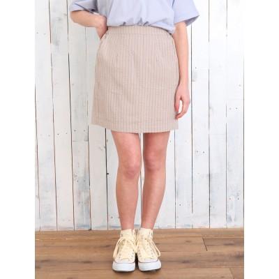 サッカーストライプタイトスカート