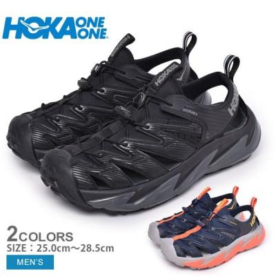 ホカオネオネ サンダル メンズ M ホパラ HOKA ONE ONE 1106534 黒 ブラック 赤 レッド オレンジ ぺたんこ スポーツ おしゃれ 新生活