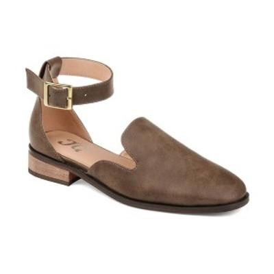 ジャーニーコレクション レディース サンダル シューズ Women's Loreta Flats Brown