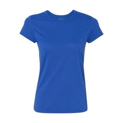 レディース 衣類 トップス Gildan Women's Performance Short Sleeve T-Shirt. 42000L グラフィックティー